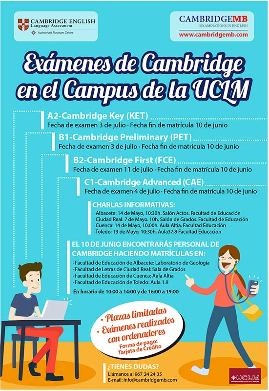 fechas-examenes-cambridge-english-campus-uclm-cambridgemb