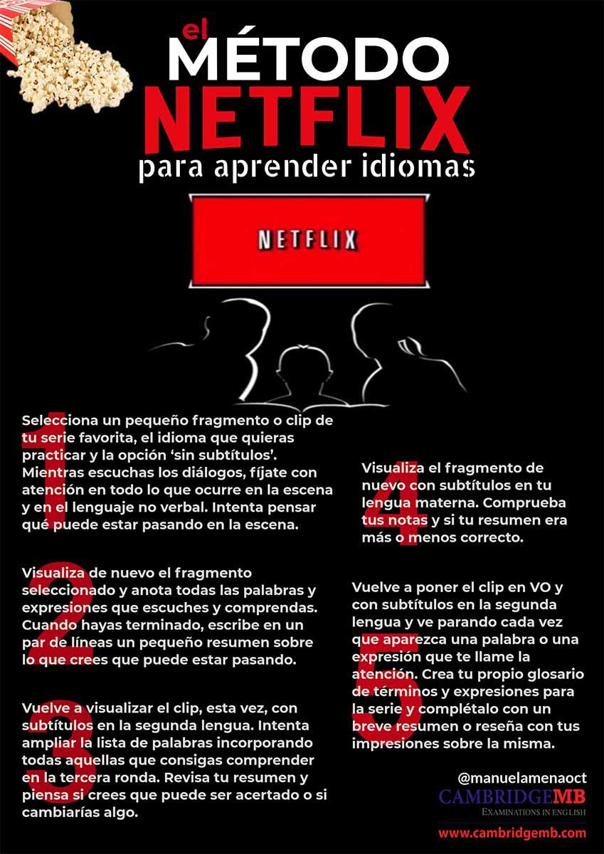 El Método Netflix Para Aprender Inglés Cambridgemb 2021